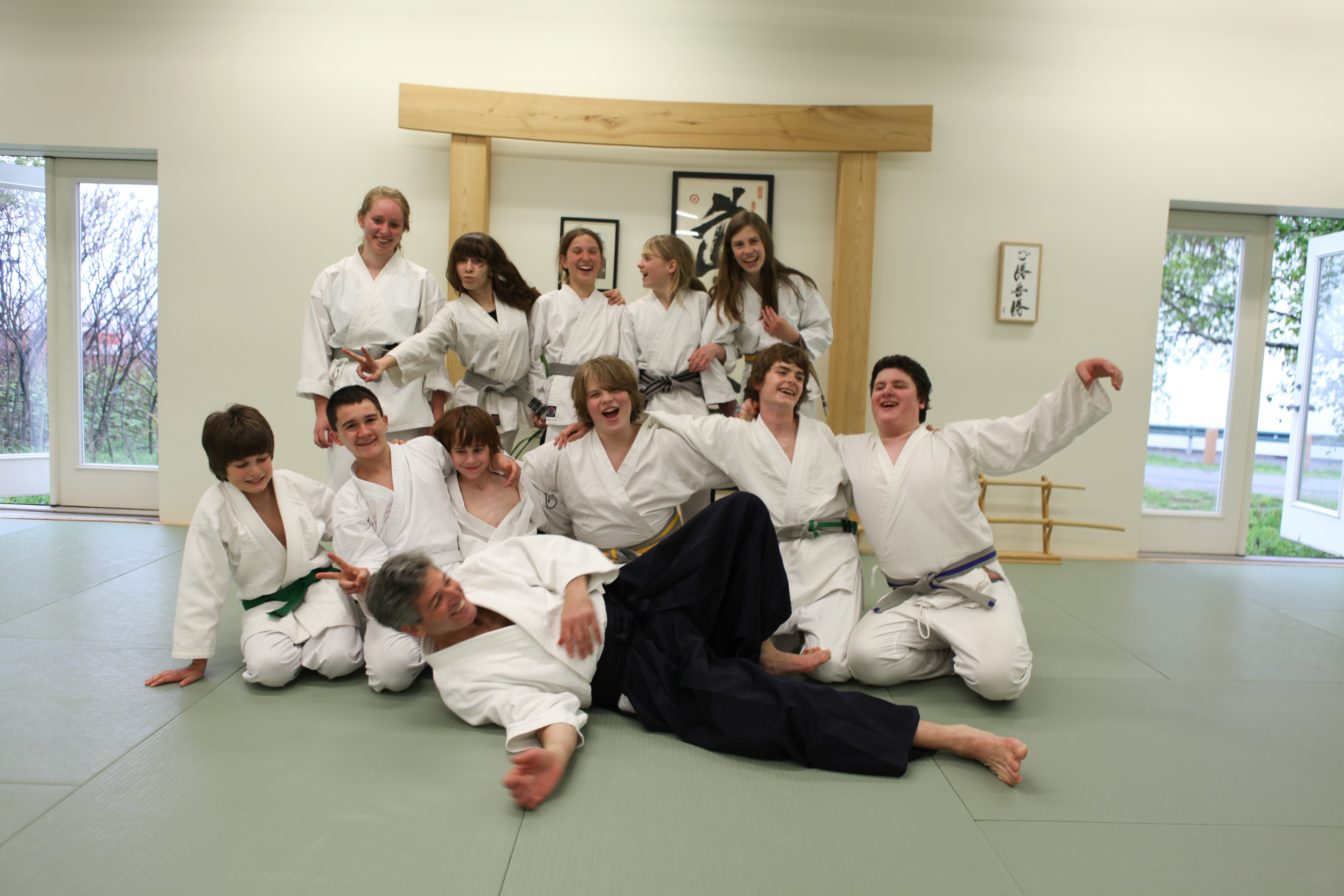 youth martial arts program -aikido is full of lessons to