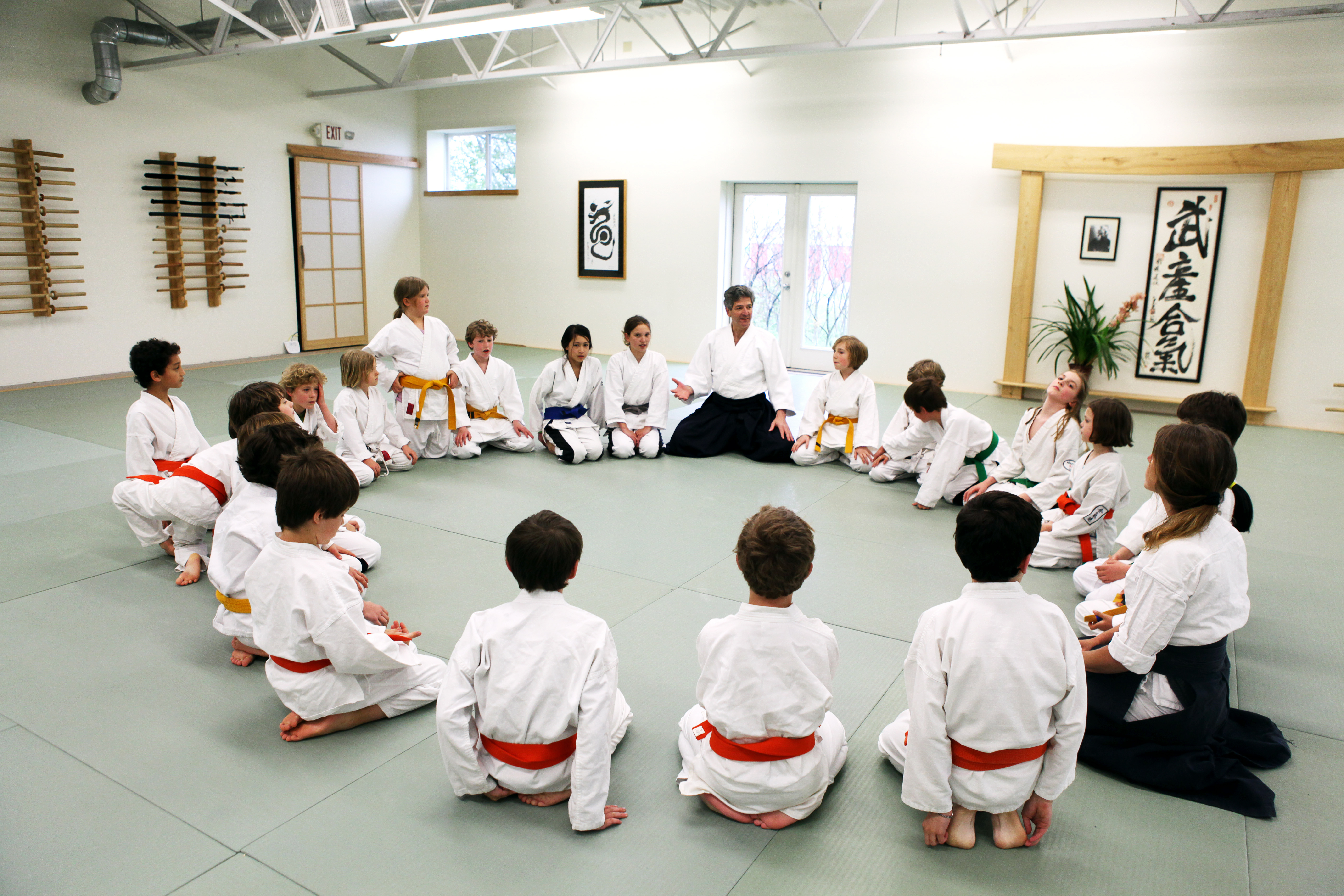 Intro to Aikido for children